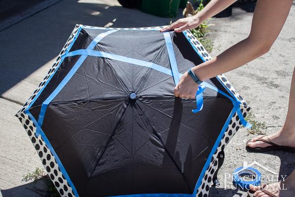 Neon Color Block Umbrella-4