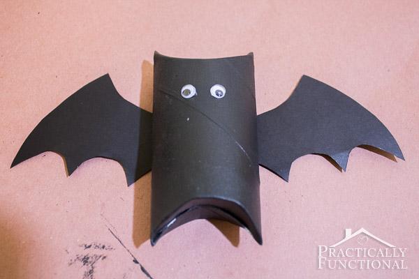 Toilet Paper Roll Bat-12