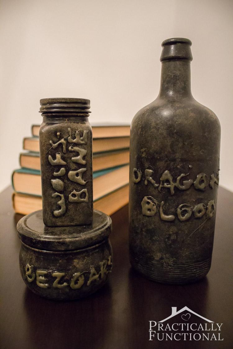 Apothecary Jars On Kitchen Island