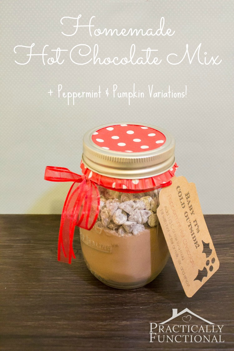 Homemade Hot Chocolate Mix Recipe: Super creamy and delicious!