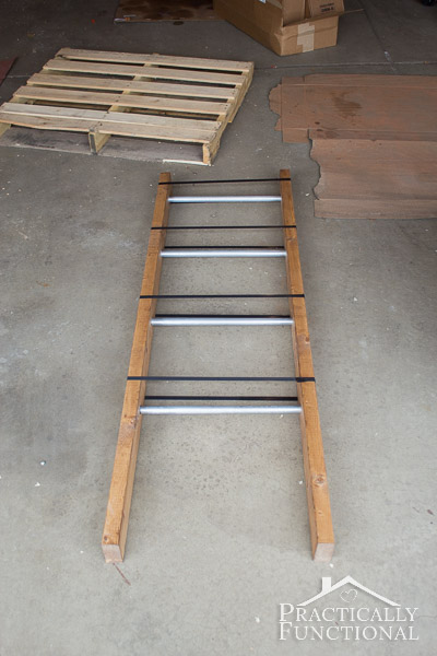 How To Make A Blanket Ladder-9