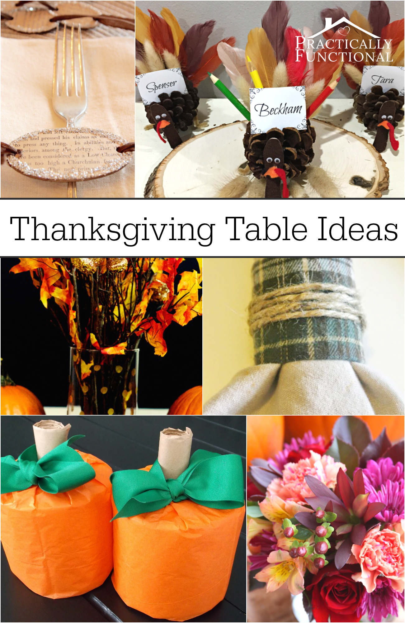 If you host Thanksgiving dinner, these Thanksgiving table decoration ideas are perfect for you!