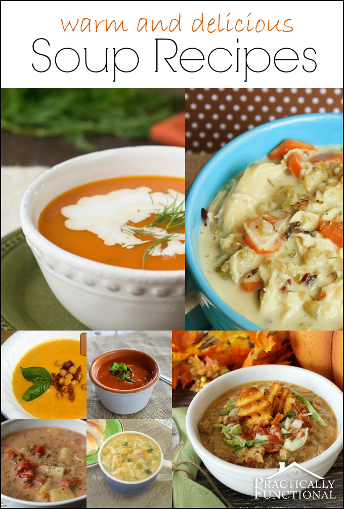 Warm and Delicious Soup Recipes