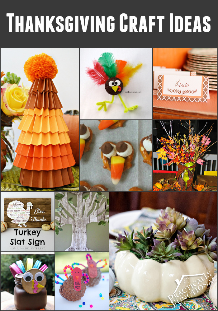 10 thanksgiving craft ideas for Easy thanksgiving craft ideas