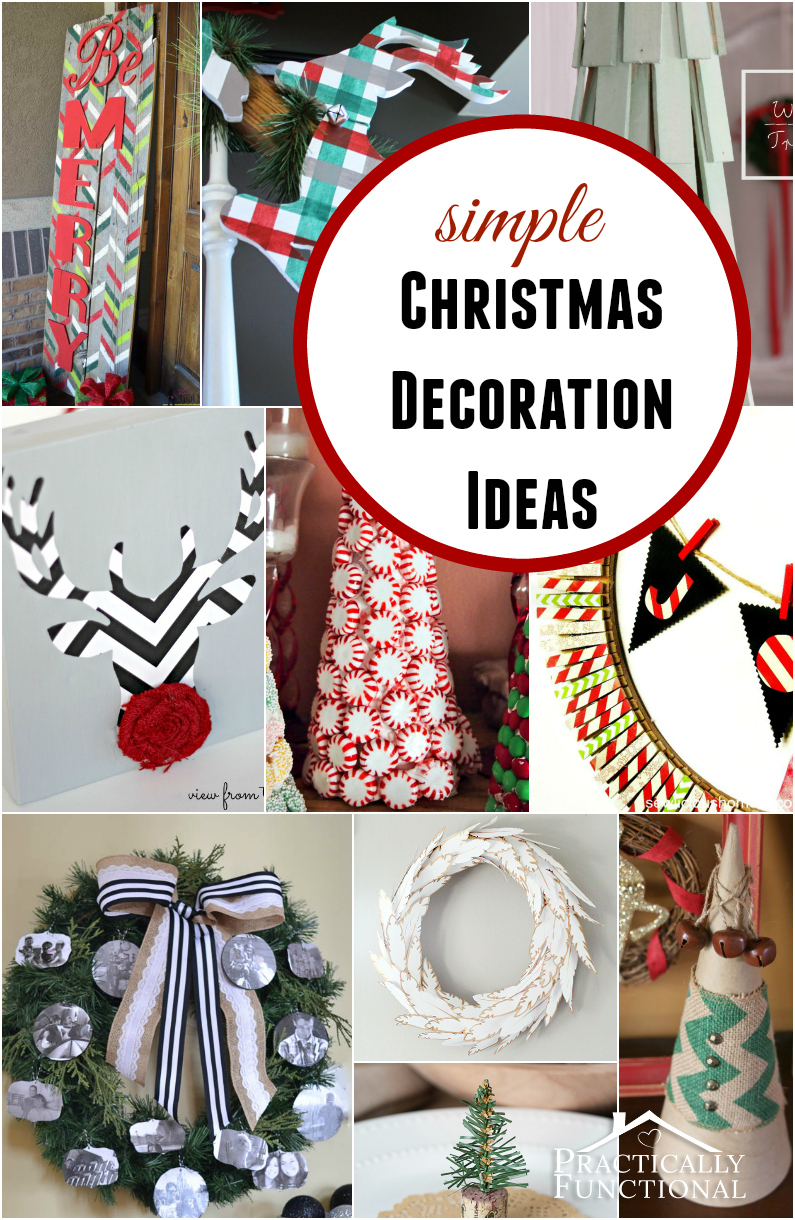 simple christmas decoration ideas - Simple Christmas Decoration Ideas