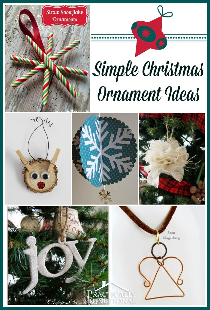 Simple Christmas Ornament Ideas