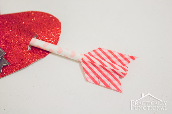 How To Make Cupid's Arrow Valentines-5
