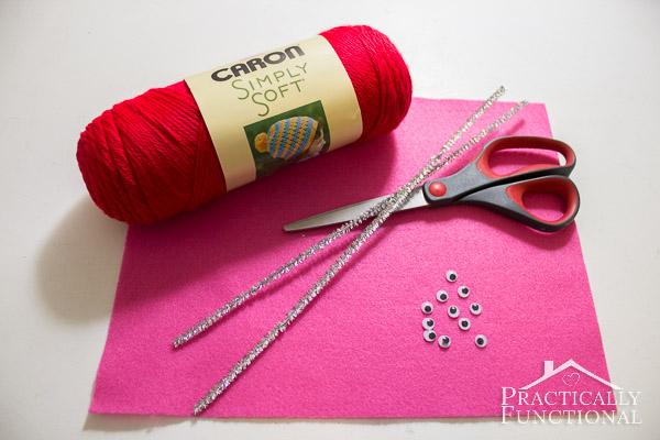 How To Make Valentine's Day Pom Pom Monsters-5
