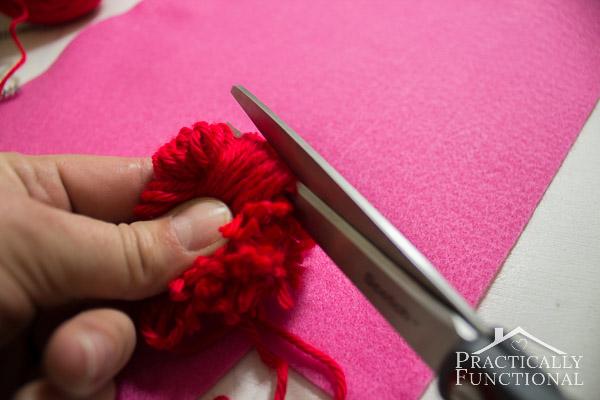How To Make Valentine's Day Pom Pom Monsters-9