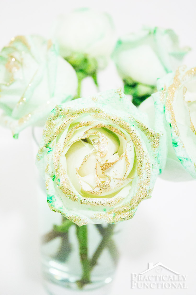 How To Make Green Roses For St. Patrick's Day