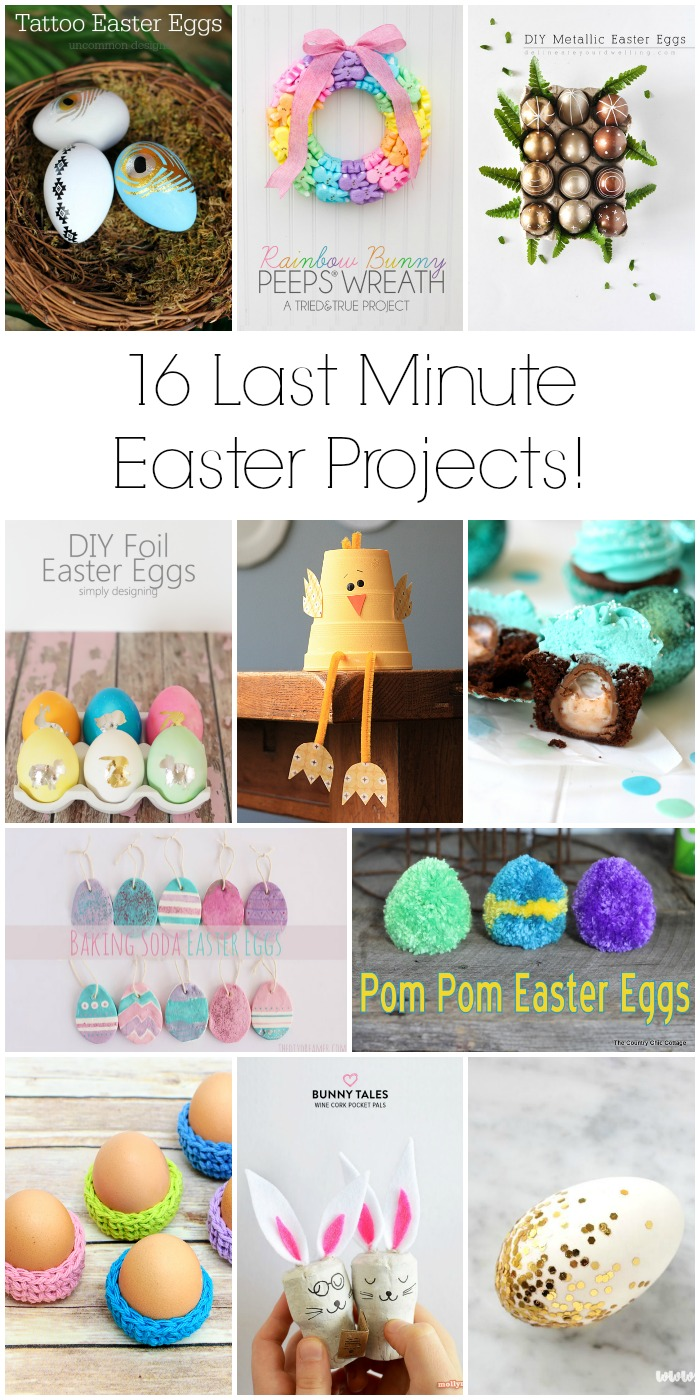16 Last Minute Easter Projects