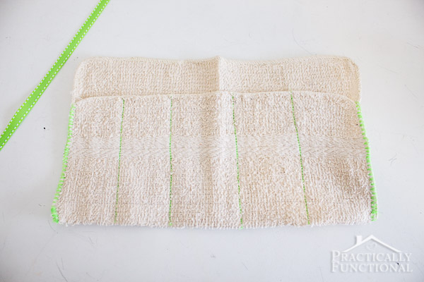 Turn a washcloth into a DIY travel kit-6
