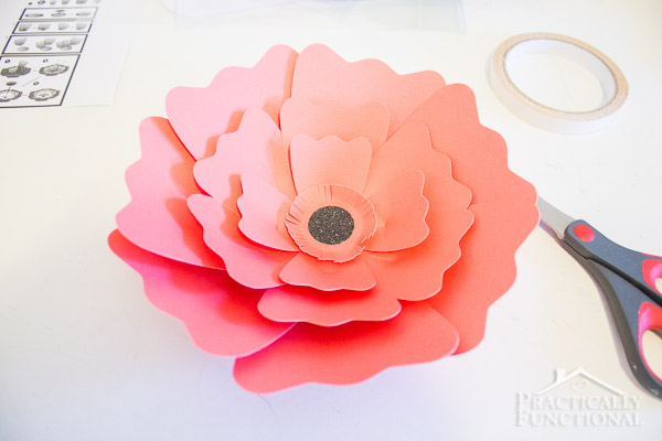 DIY Giant Paper Flowers-8