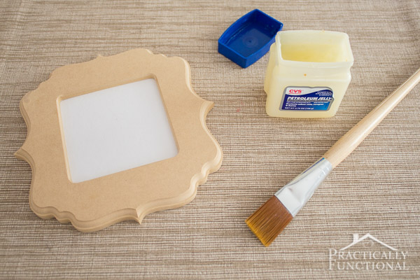 How To Fake An Antique Chippy Painted Look With Vaseline!-2