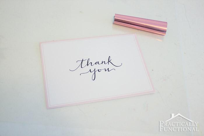 DIY Foil Thank You Cards-4