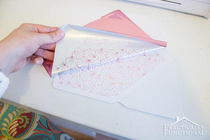DIY Foil Thank You Cards-7