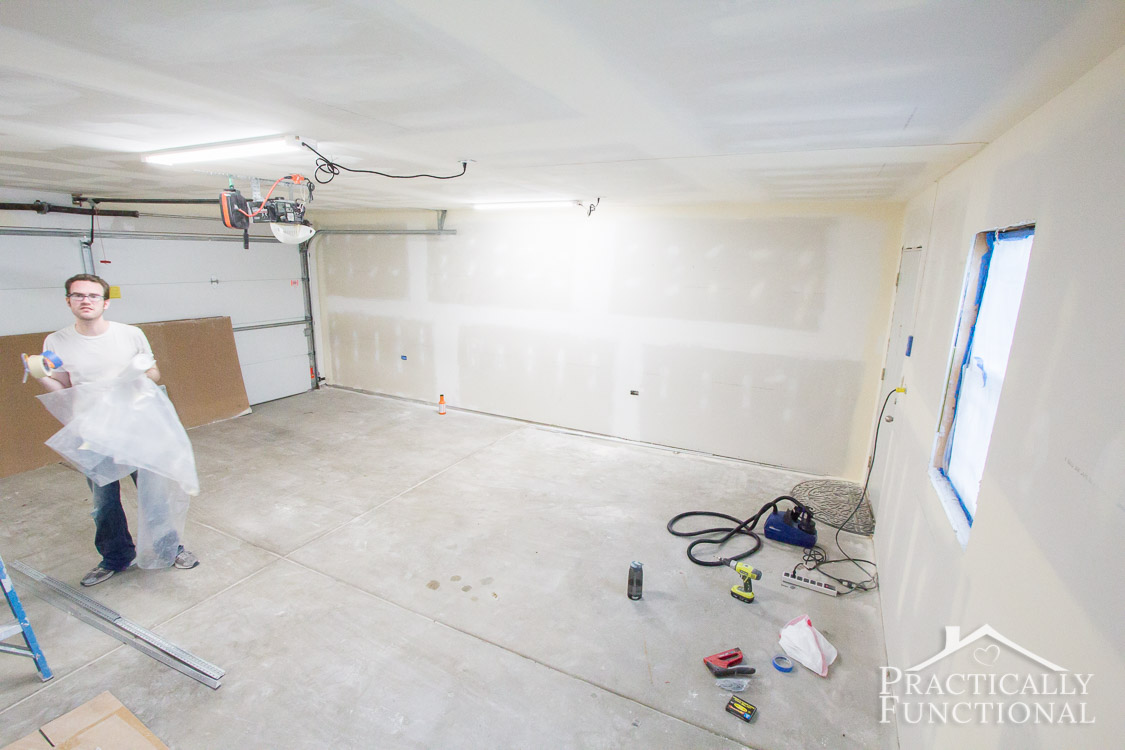 Garage Remodel Progress - Ready for painting!-6