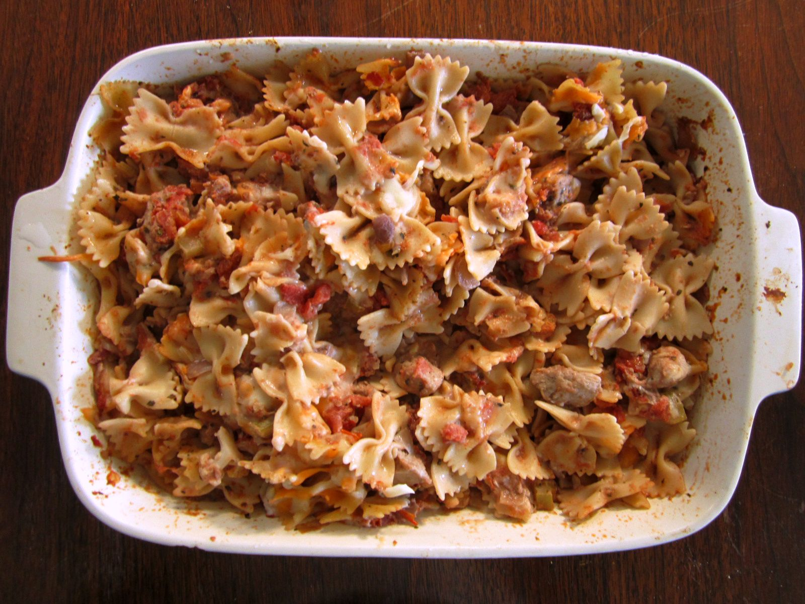 chicken pasta bake 4