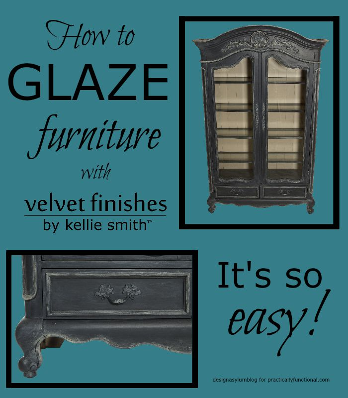 These few tips for painting and glazing furniture will help make your painting projects go smoothly!