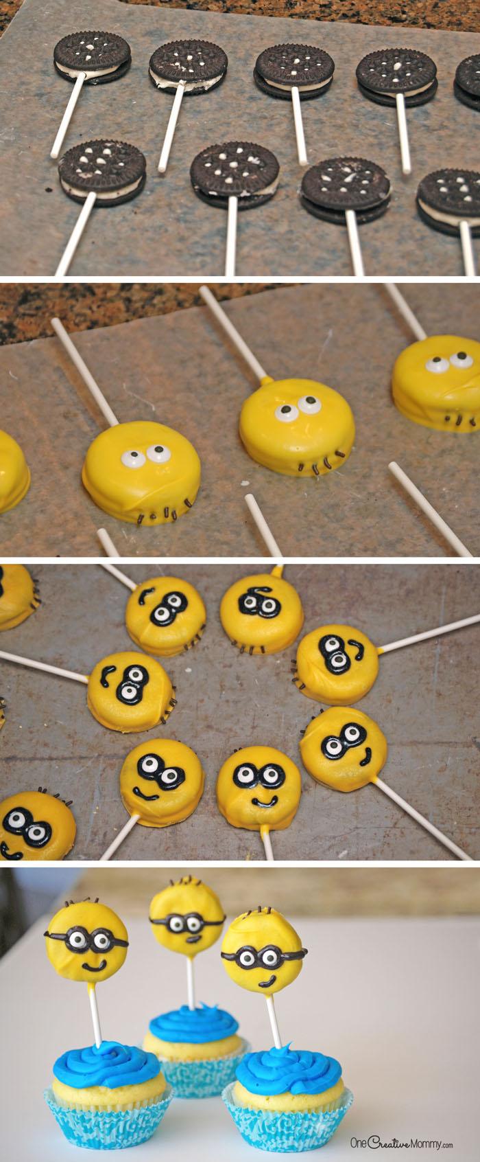 minions-cupcakes-oreos-steps