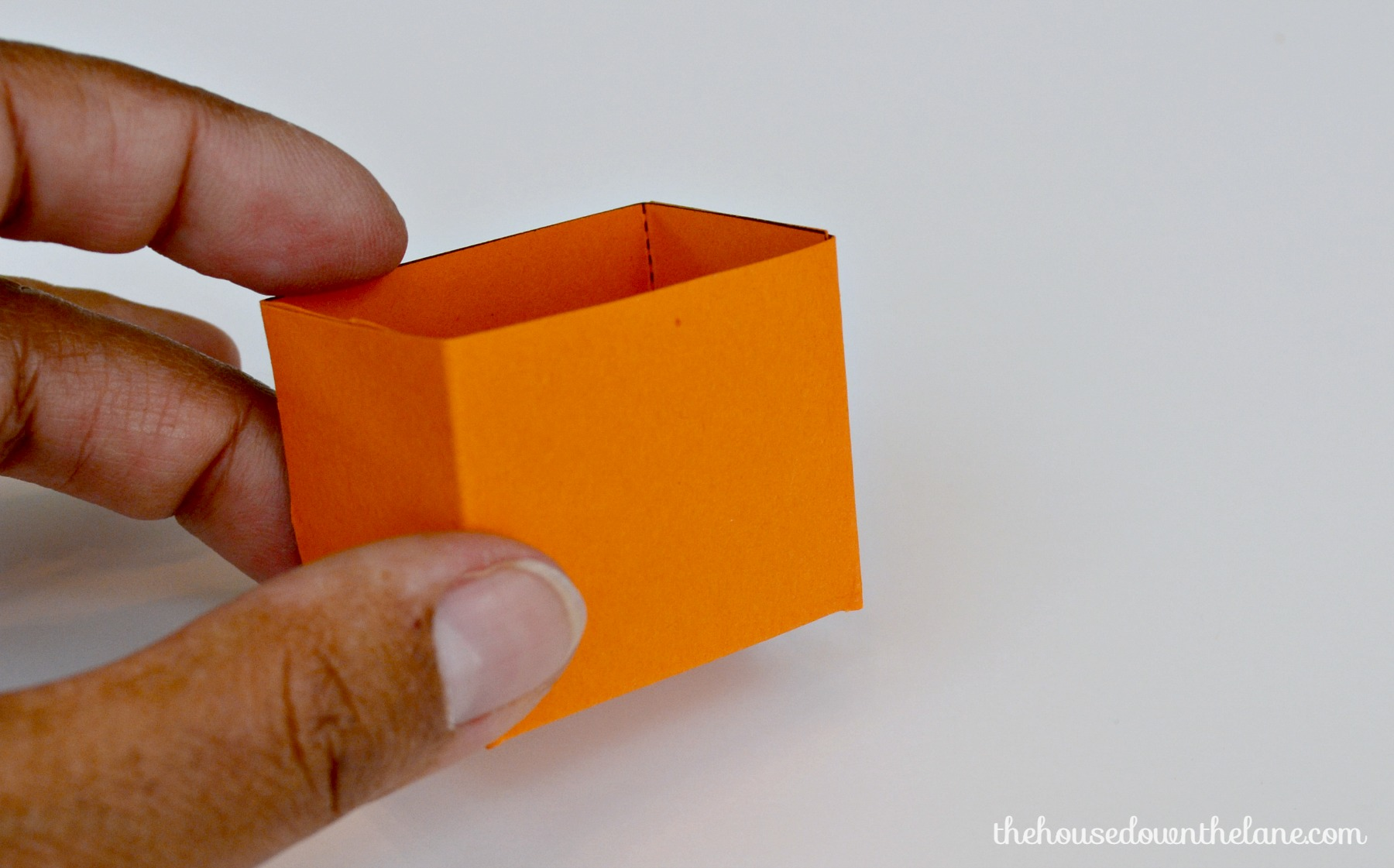 Photo #12 DIY Mini Pumpkin Favor Boxes
