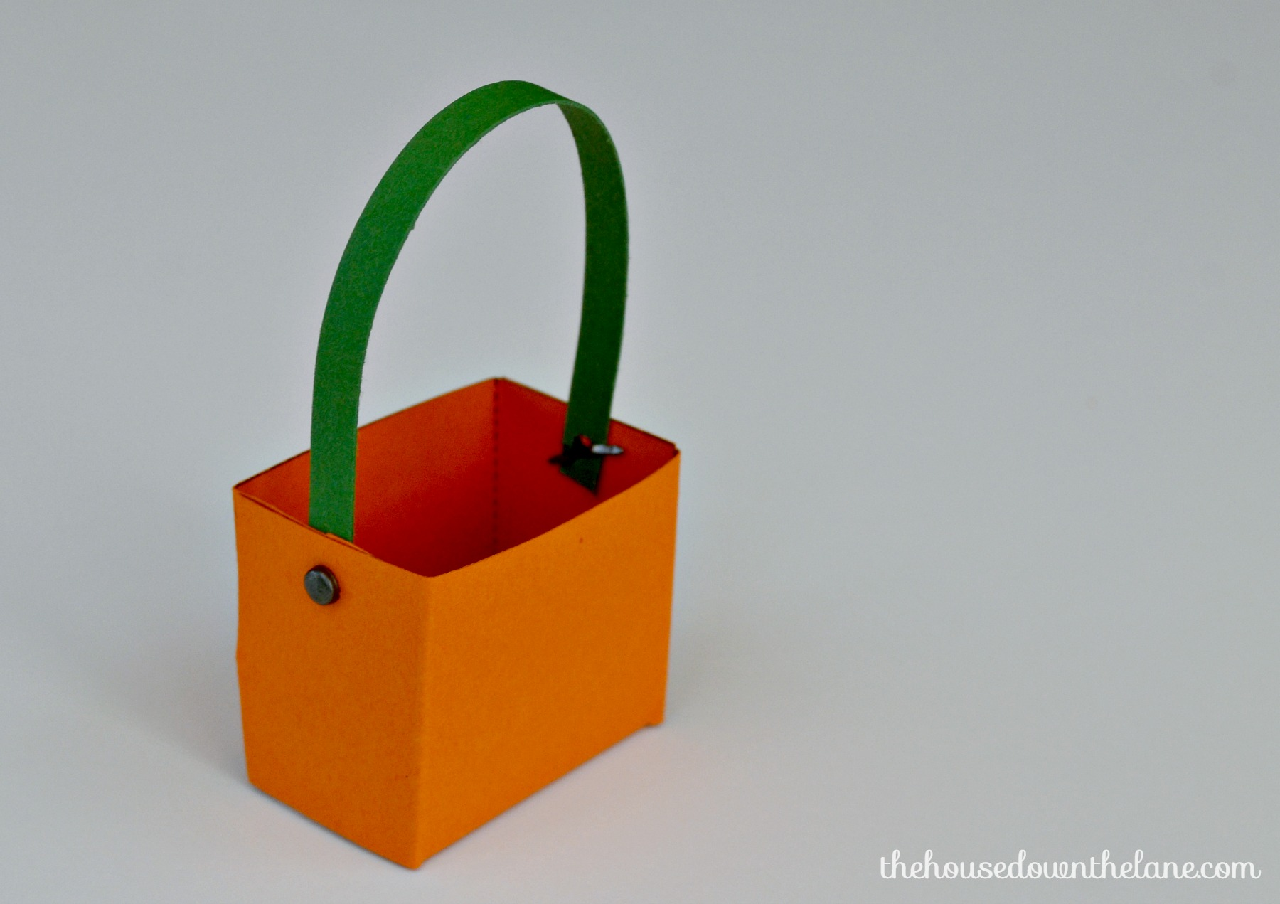 Photo #13 DIY Mini Pumpkin Favor Boxes
