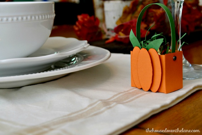 Photo #19 DIY Mini Pumpkin Favor Boxes