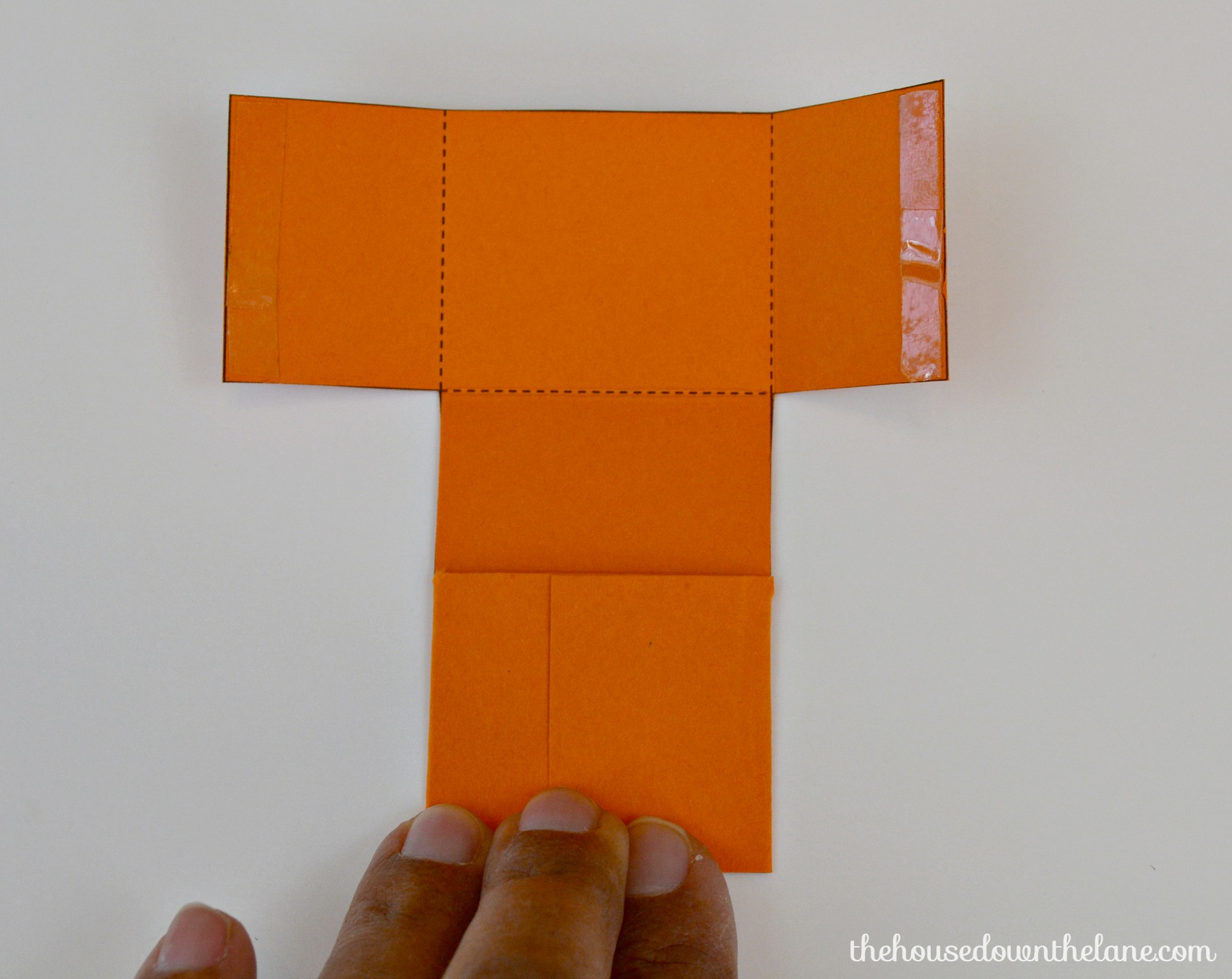 Photo #9 DIY Mini Pumpkin Favor Boxes
