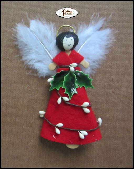 Woodland Angel Ornament
