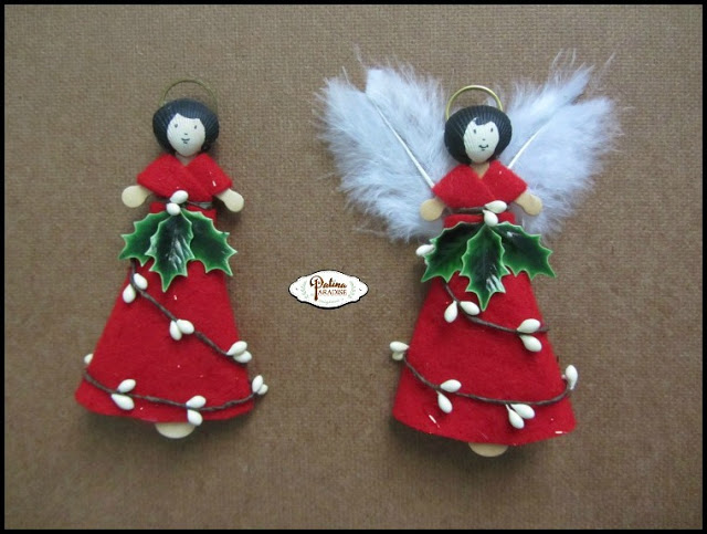Woodland Angel Ornament - Step 6