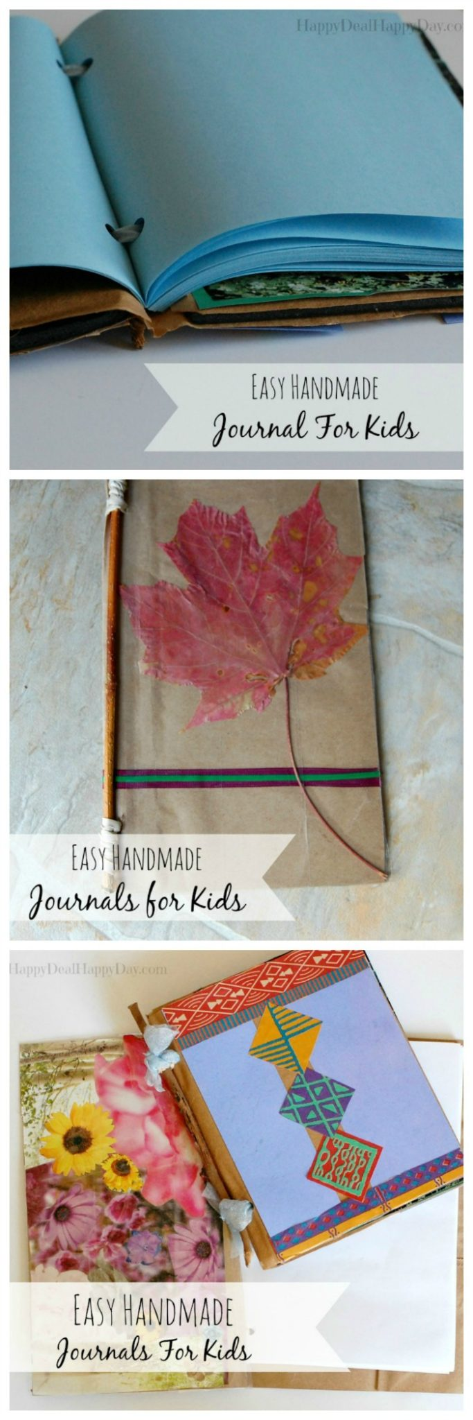 These handmade journals for kids would make fantastic gifts and are so easy to make with this step by step tutorial.