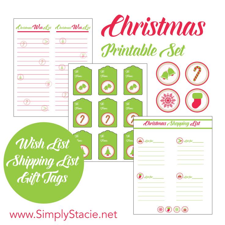 Christmas Printable Set - and 13 other Christmas printables!
