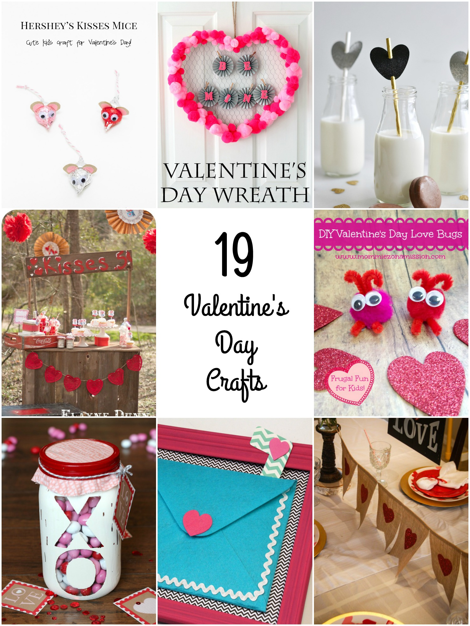 So Creative! - 19 Fun Valentine\'s Day Crafts