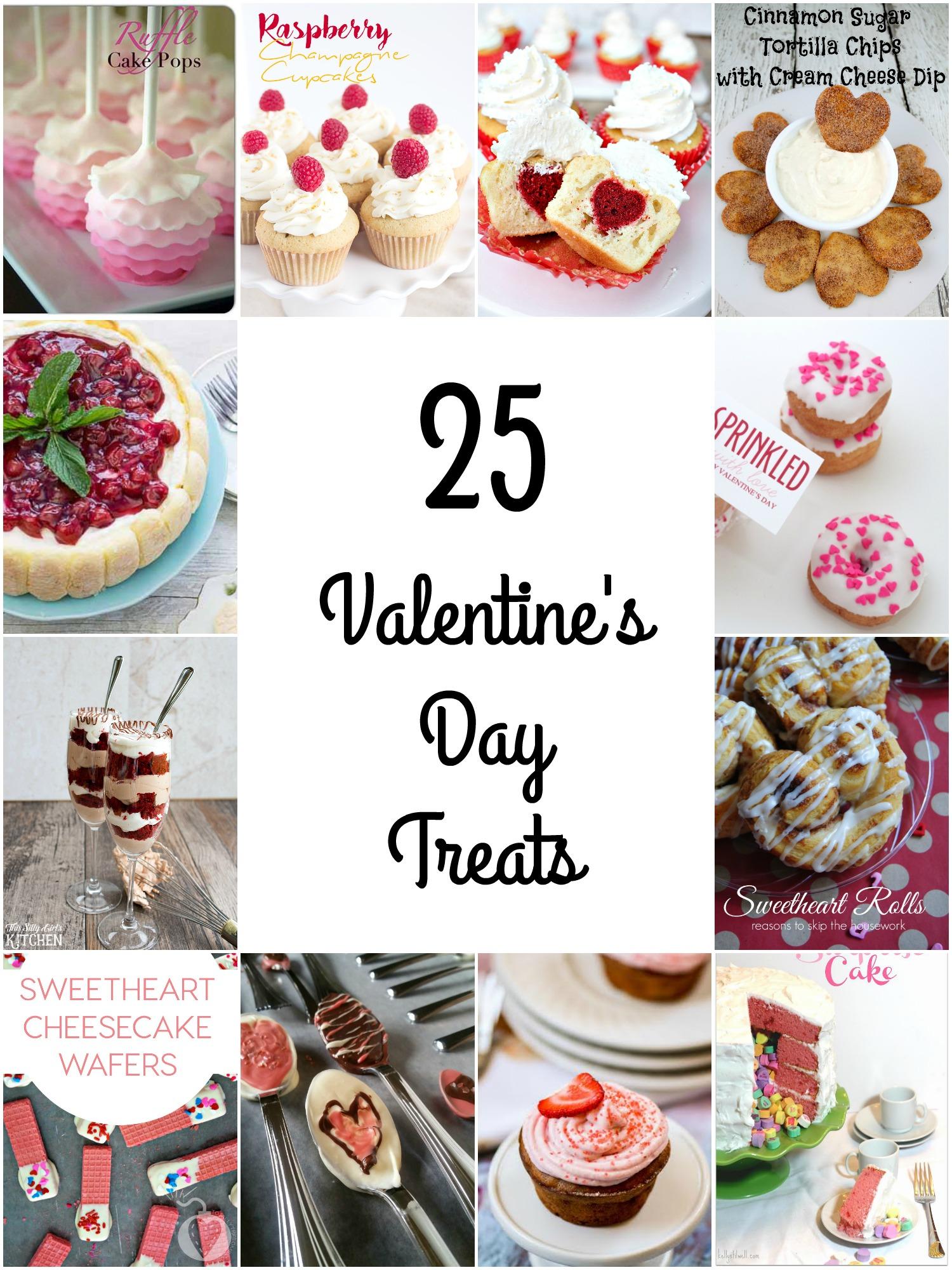 25 Valentine's Day Treats