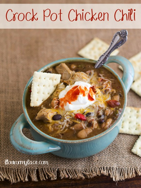 Crock Pot Chicken Chili - and 26 other delicious comfort food recipes!