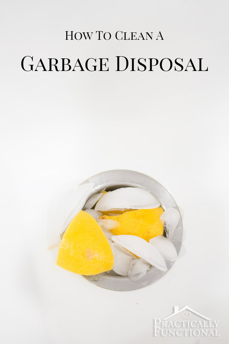How to clean and deodorize your garbage disposal with baking soda, vinegar, ice, and lemon