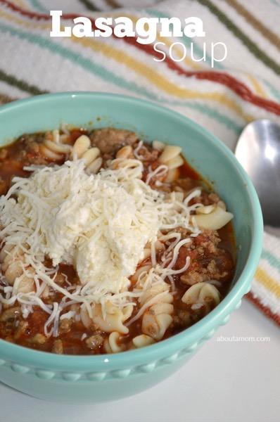 Lasagna Soup Recipe - and 26 other delicious comfort food recipes!