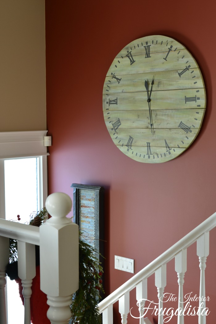 Pallet Wood Clock 2