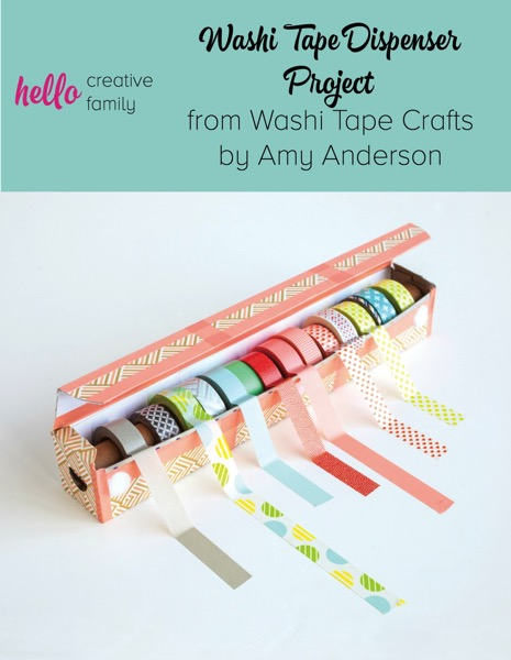 Washi Tape Dispenser - and 9 other great ways to organize and declutter your home!