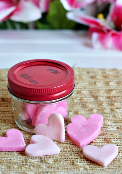 Cream Cheese Heart Mints - and 24 other delicious Valentine's Day treats!