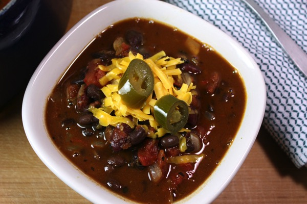 Vegetarian Chili - and 26 other delicious comfort food recipes!