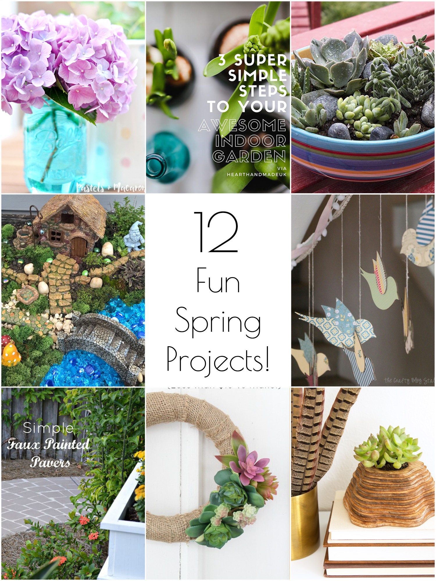 12 festive DIY spring projects