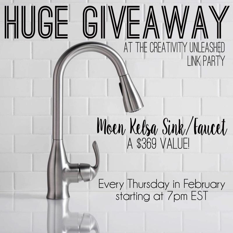 Win a Moen Kelsa sink and faucet!