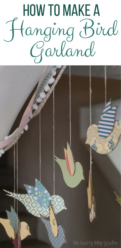 How to make a hanging bird garland - and 11 other festive DIY spring projects!