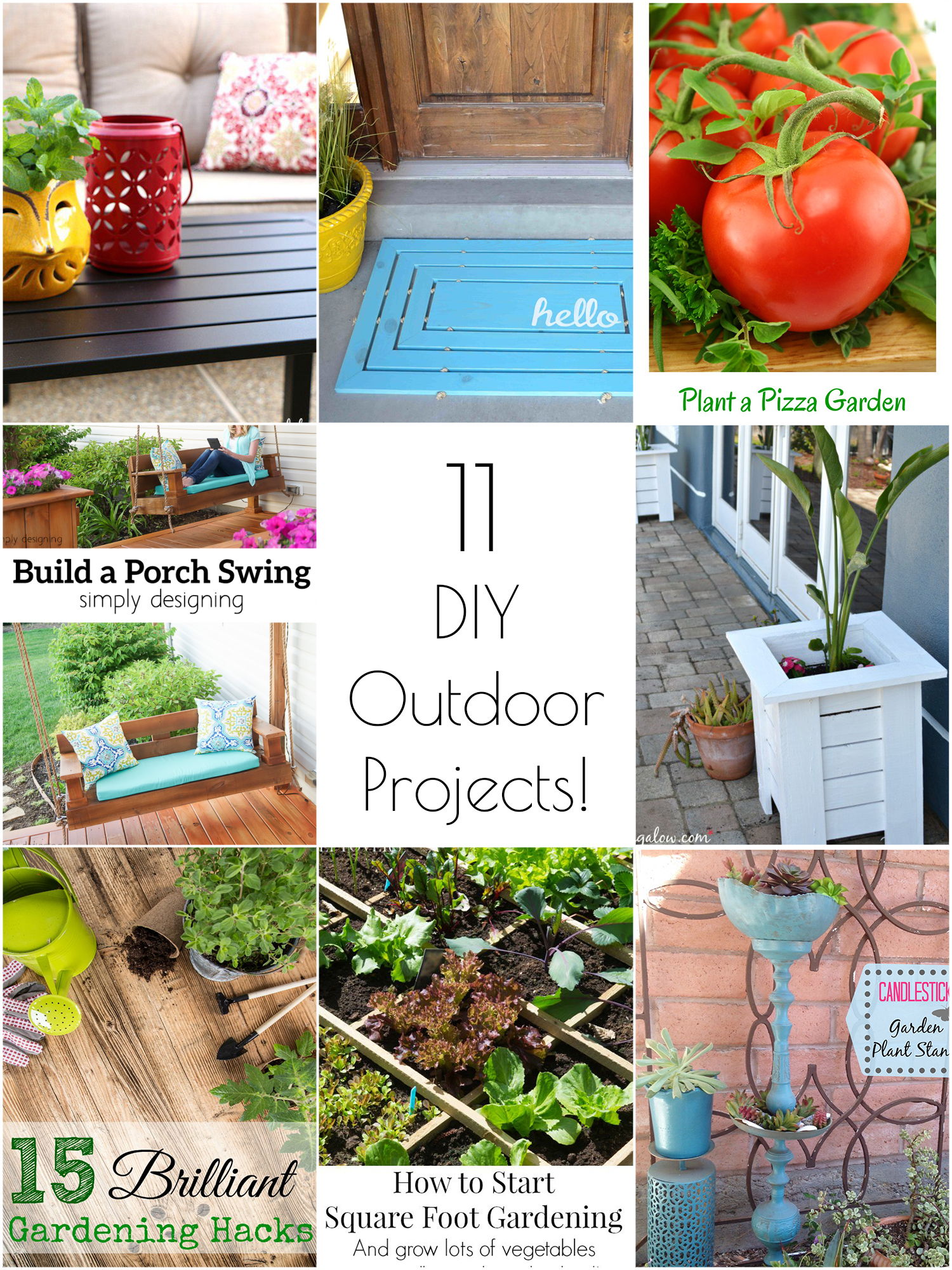Merveilleux 11 Amazing DIY Outdoor Projects To Try This Spring