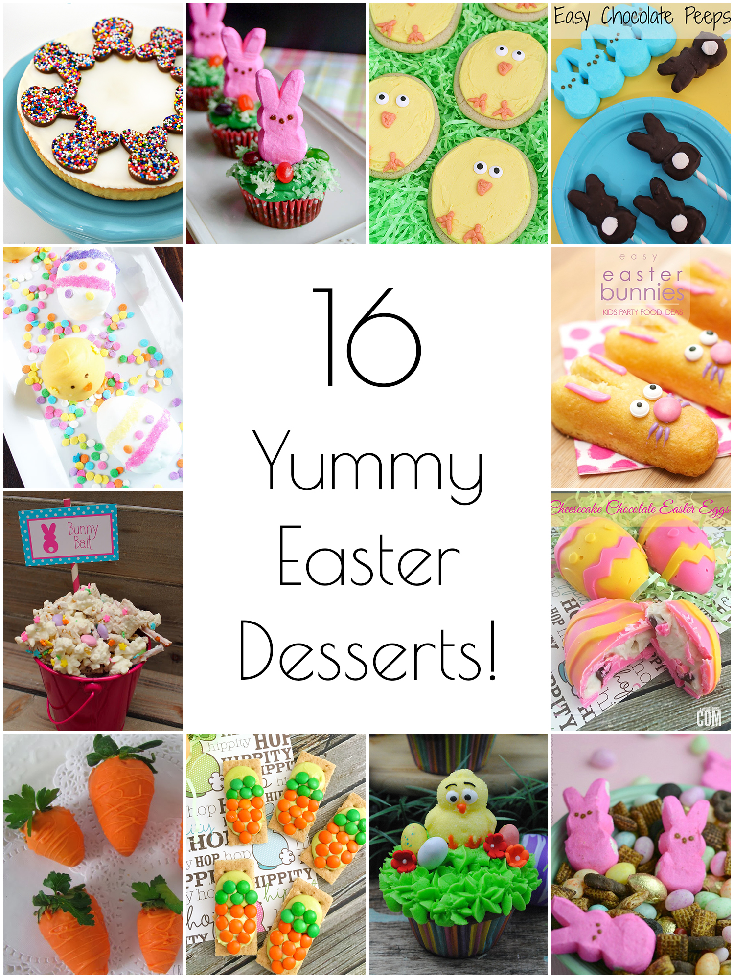 So Creative 16 Yummy Easter Desserts
