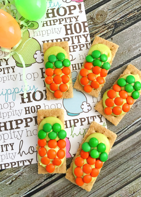 Carrot Grahams Easter Treat for Kids - and 15 other yummy Easter desserts!