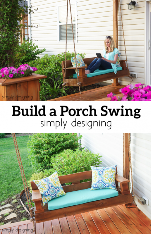 How to Build a Porch Swing - and ten other amazing DIY outdoor projects to try this spring!