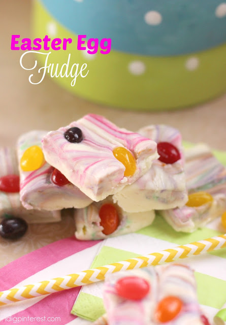 Easter egg fudge - and 15 other yummy Easter desserts!