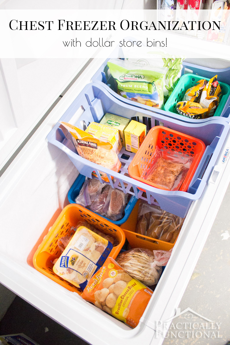How To Store Food In Chest Freezer